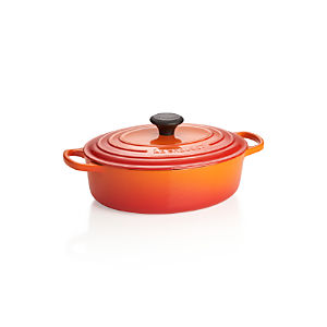 Le Creuset ® Signature 3.5-qt. Flame Oval French Oven