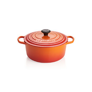 Le Creuset ® Signature 5.5-qt. Flame Round French Oven