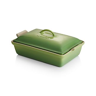 Le Creuset ® Heritage Covered Rectangle Palm Baker