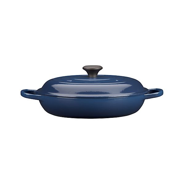 Le Creuset ® Signature 3.5 qt. Ink Everyday Pan