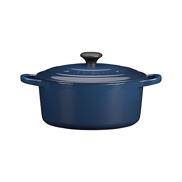 Le Creuset® 3.5 qt. Round Ink French Oven with Lid