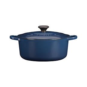 Le Creuset® 5.5 qt. Round Ink French Oven with Lid