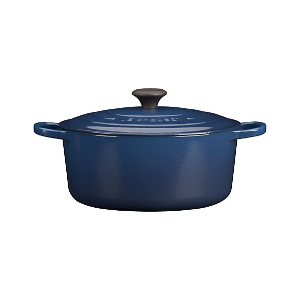 Le Creuset®  Signature 7.25 qt. Round Ink French Oven with Lid