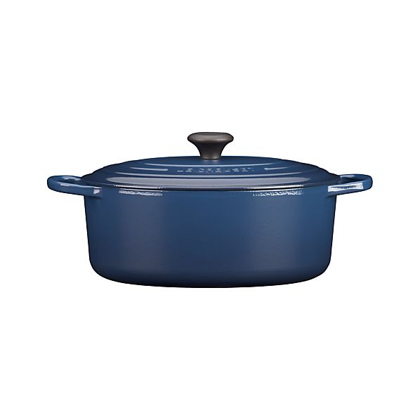 Le Creuset® 6.75 qt. Oval Ink French Oven with Lid