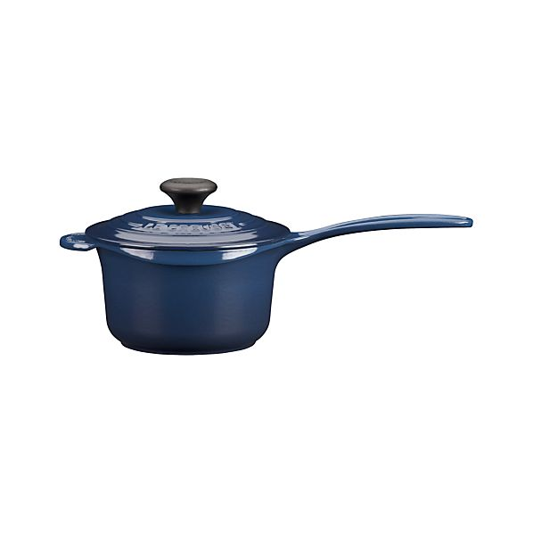 Le Creuset® Signature Ink Saucepan with Lid