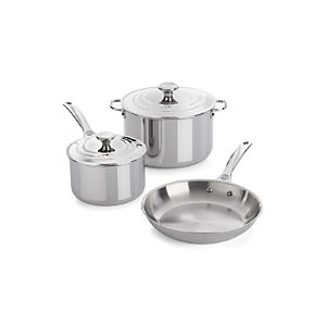 Le Creuset® Signature Stainless Steel 5-Piece Cookware Set