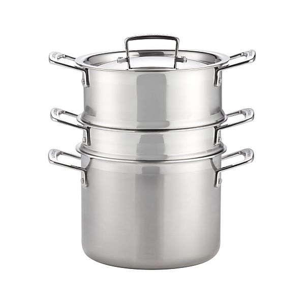 Le Creuset® 5.25 qt. Stainless Steel Multipot