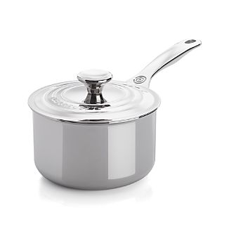 Le Creuset® Signature Stainless Steel 2 qt. Saucepan with Lid