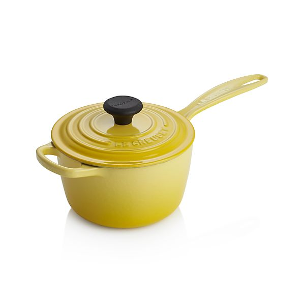 Le Creuset ® Signature 1.75-qt. Soleil Saucepan with Lid