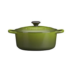 Le Creuset 5.5 qt. Round Spinach French Oven with Lid