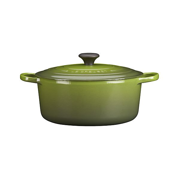 Le Creuset® 7.25 qt. Round Spinach French Oven with Lid