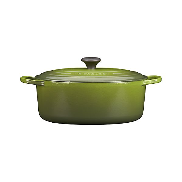 Le Creuset® 6.75 qt. Oval Spinach French Oven with Lid