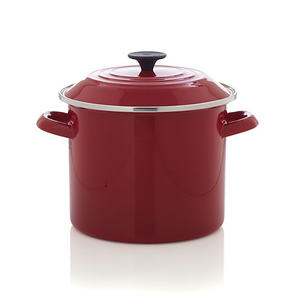 Le Creuset® 8 qt. Red Stock Pot