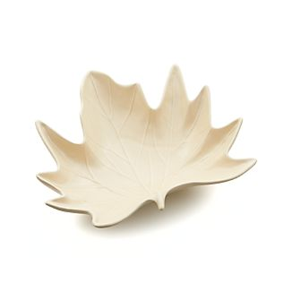 Maple Leaf Centerpiece Bowl