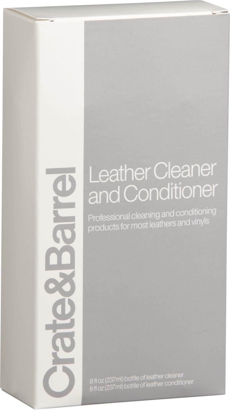 Keep your luxury leather goods looking their best with this gentle, efficient cleaner and conditioner that provides a stain barrier and extends the life of fine leathers.<br /><br /><NEWTAG/><ul><li>Cleaner contains emulsifiers and distilled water</li><li>Conditioner contains water, polyethoxy silicone emulsion and polyethylene oxide</li><li>Always pre-test in a hidden area</li></ul>