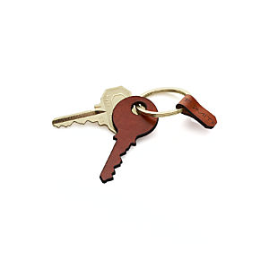 Leather Key Keychain
