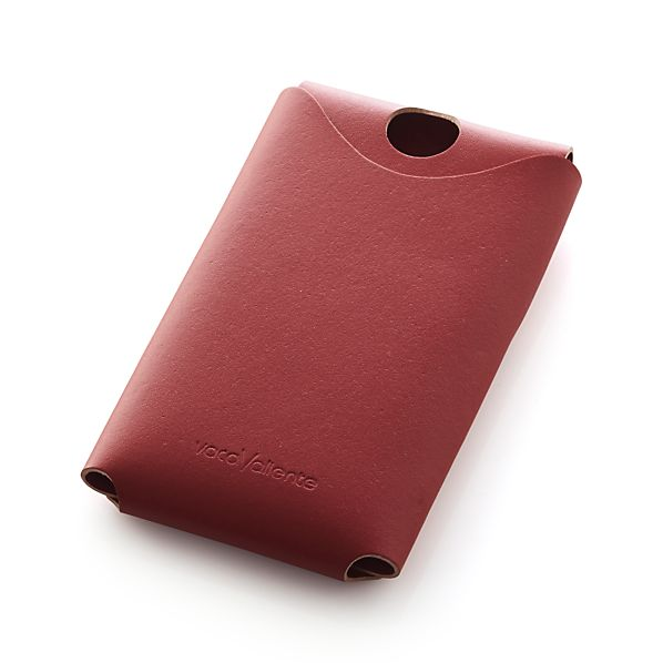 Red Leather Phone Cover