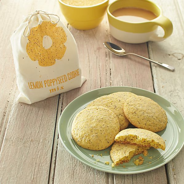 Lemon Poppy Seed Cornmeal Cookie Mix