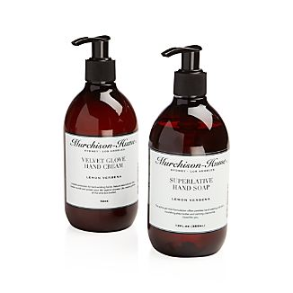 Lemon Verbena Hand Cream and Hand Soap