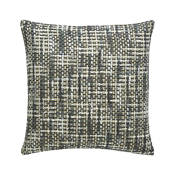 "Lena 20"" Pillow with Feather-Down Insert"
