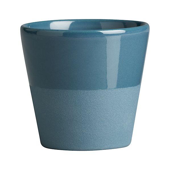 Leone Blue Double Espresso Cup