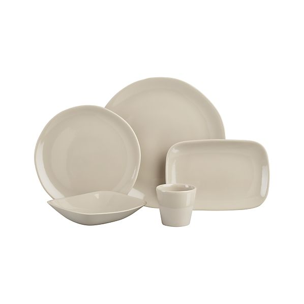Leone Grey Dinnerware