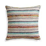 "Levant 20"" Pillow with Feather Insert"