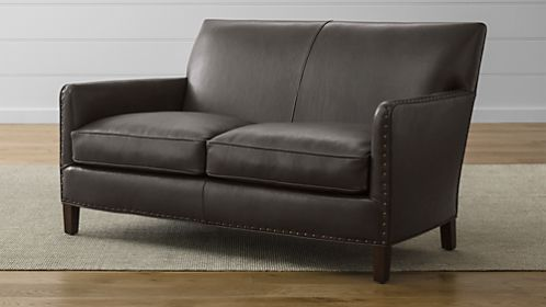Liam Leather Loveseat