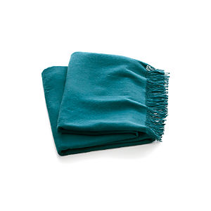 Lima Alpaca Peacock Throw