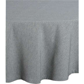 Linden Dove 90 Round Tablecloth