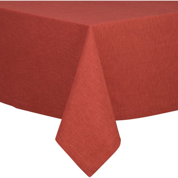 "Linden Henna 60""x144"" Tablecloth"