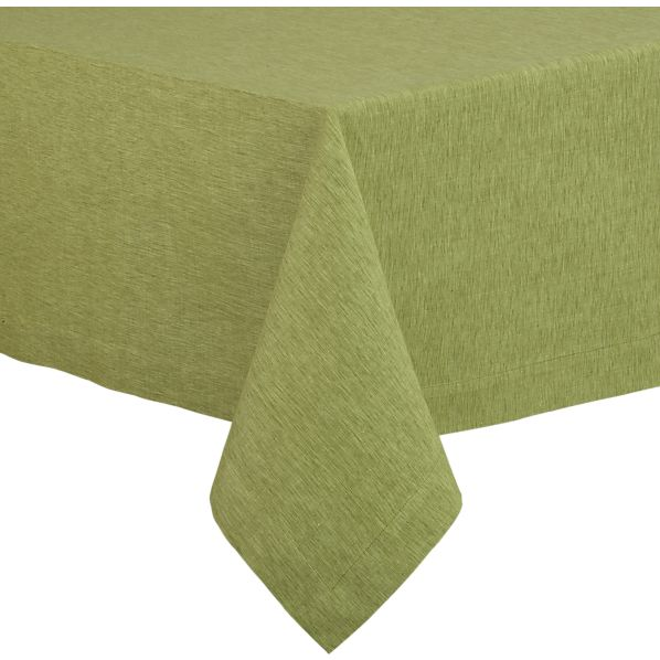"Linden Pear 60""x90"" Tablecloth"