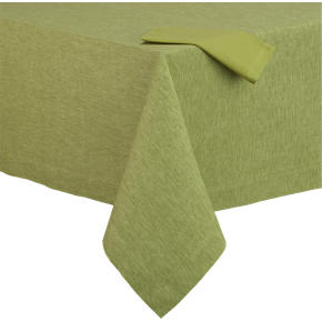 Linden Pear Tablecloth and Cotton Pear Napkin