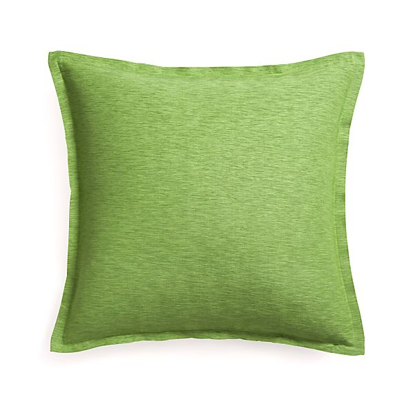 "Linden Avocado 23"" Pillow"