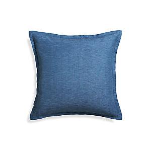 "Linden Indigo 23"" Pillow"
