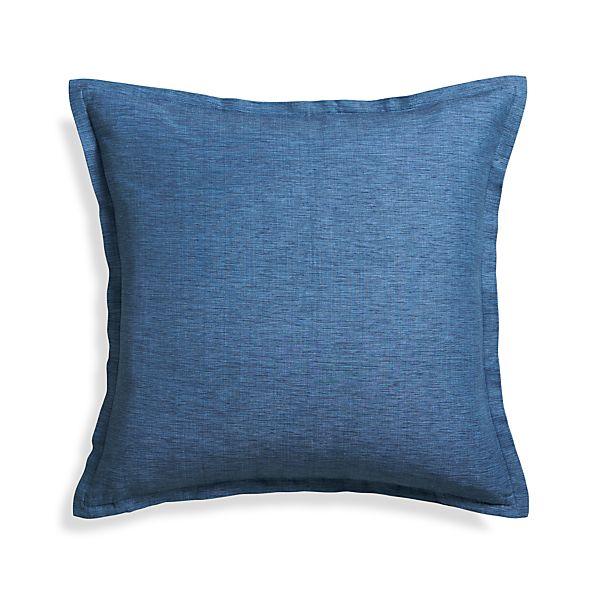 Linden Indigo Blue 23 Quot Pillow