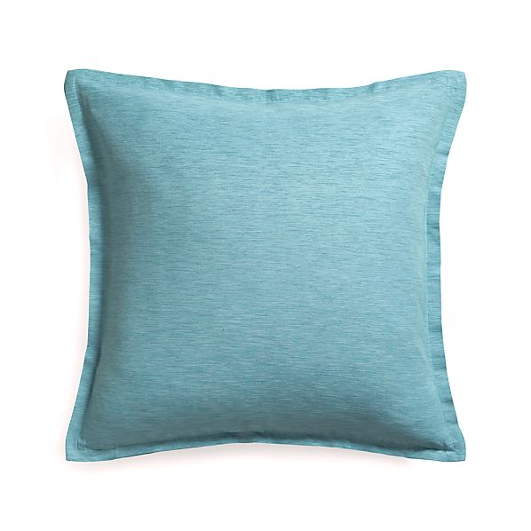 "Linden Lake 23"" Pillow with Feather Insert"