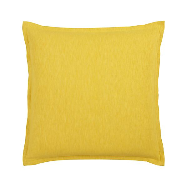 "Linden Yellow 23"" Pillow"