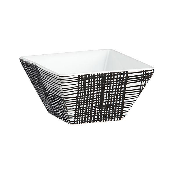 Line Square Bowl