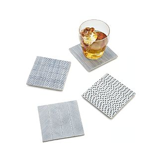 Linea Tile Coasters Set of Four