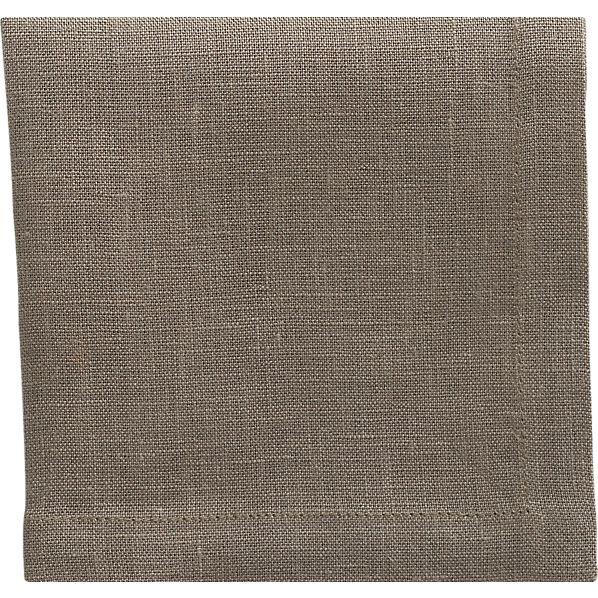Linen Brindle Cocktail Napkin
