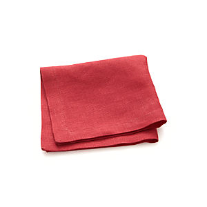 Linen Azalea Cocktail Napkin