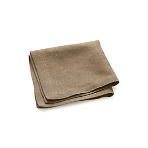 Linen Brindle Cocktail Napkins