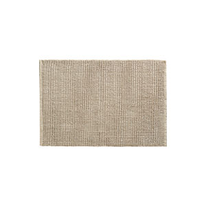 Linen Cotton Bath Rug