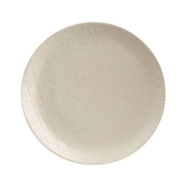 Linen Round Appetizer Plate