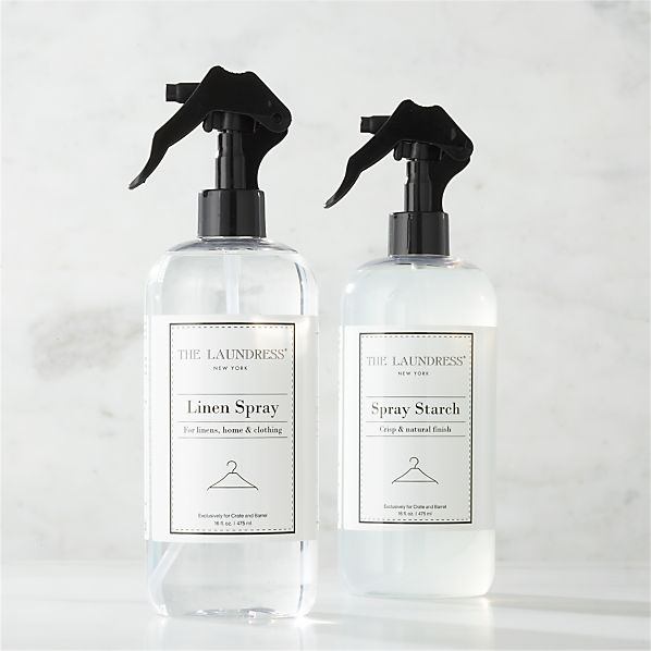 The Laundress ® Linen Spray and Spray Starch