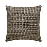 "Linen Woven 18"" Pillow with Down-Alternative Insert"