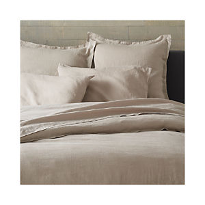 Lino Flax Linen Duvet Covers and Pillow Shams