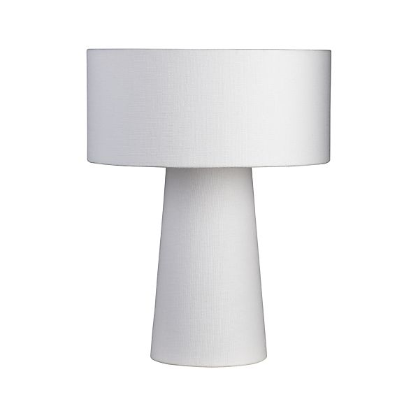 Lite White Shade Lamp