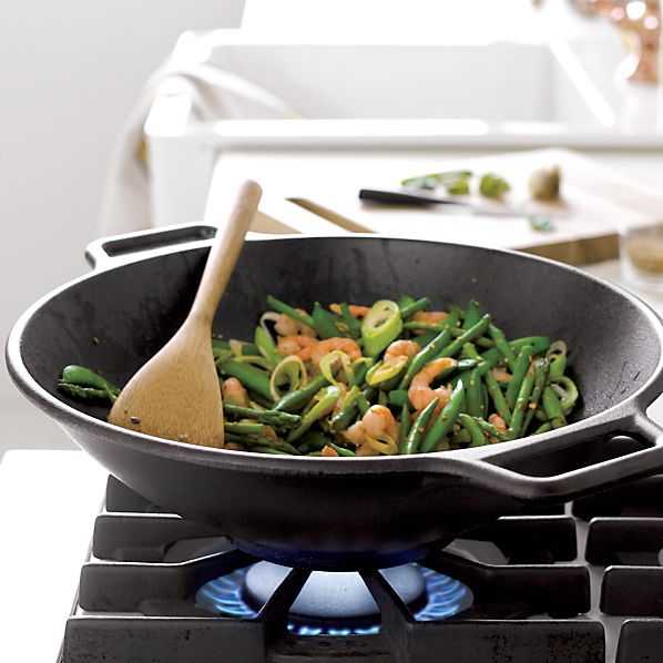 Lodge® Cast Iron Wok